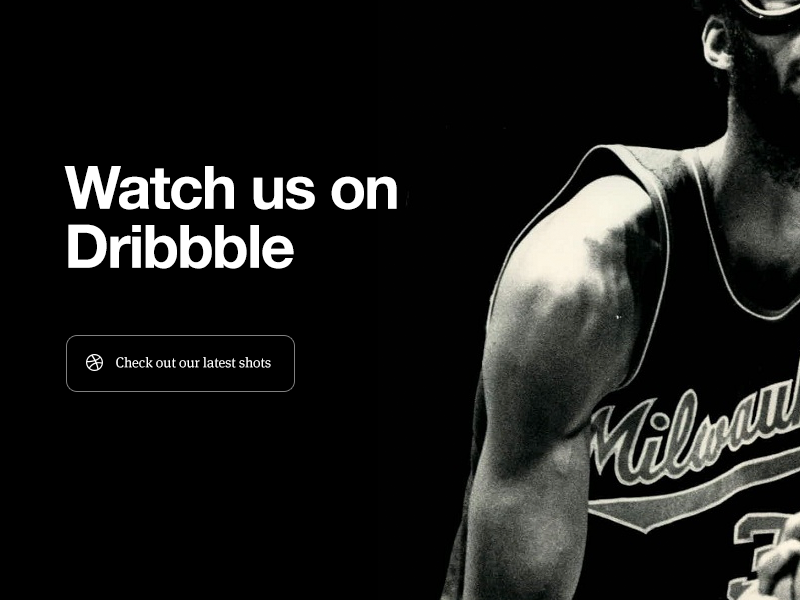 Dribbble dribbble black white web redesign teehan lax teehanlax