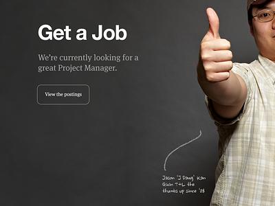 Get a Job teehanlax redesign careers jobs