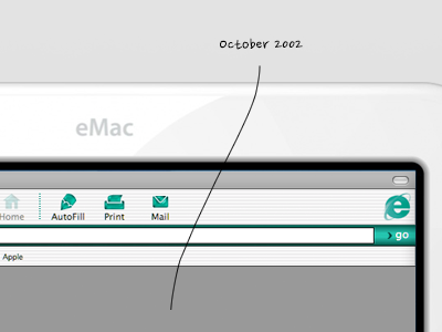 eMac emac 2002 redesign teehanlax
