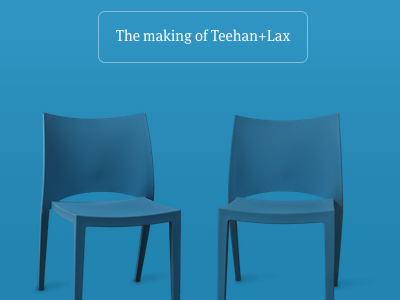 T+L Chairs teehanlax redesign responsive mobile
