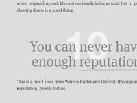 Ten Things We've Learned