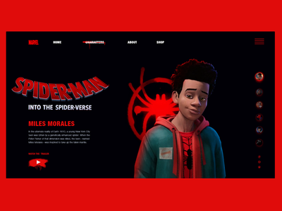 Miles morales character page