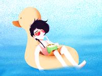 Illustration | Beach Boy