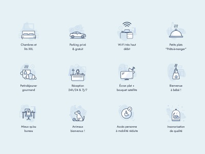 ace - icons graphic design branding service service design iconography icons clean illustration ui