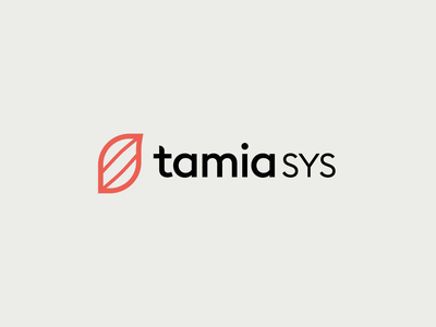 Tamia SYS health app healthcare clean color brand identity brand design graphic design app typography vector logo branding design