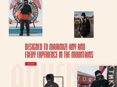 Picture adventure Line 2020 branding fashion typogaphy outdoor clean landing page design graphic design web website layout web design ui