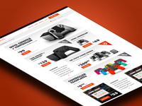 OUYA eCommerce Store Homepage