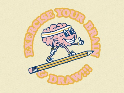 Exercise Your Brain & Draw!!!