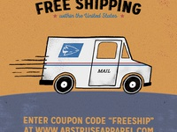 Abstruse Free Shipping
