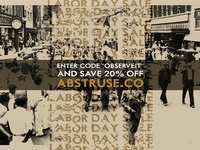 Abstruse Labor Day Sale
