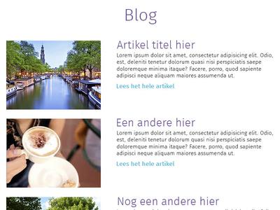 Blog Cobra Café Amsterdam blog website