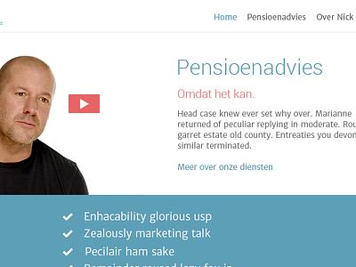 Bijvoet.nl Homepage clean bijvoet