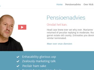 Bijvoet.nl Homepage
