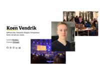 kvendrik.com v5 personal website koen vendrik kvendrik.com