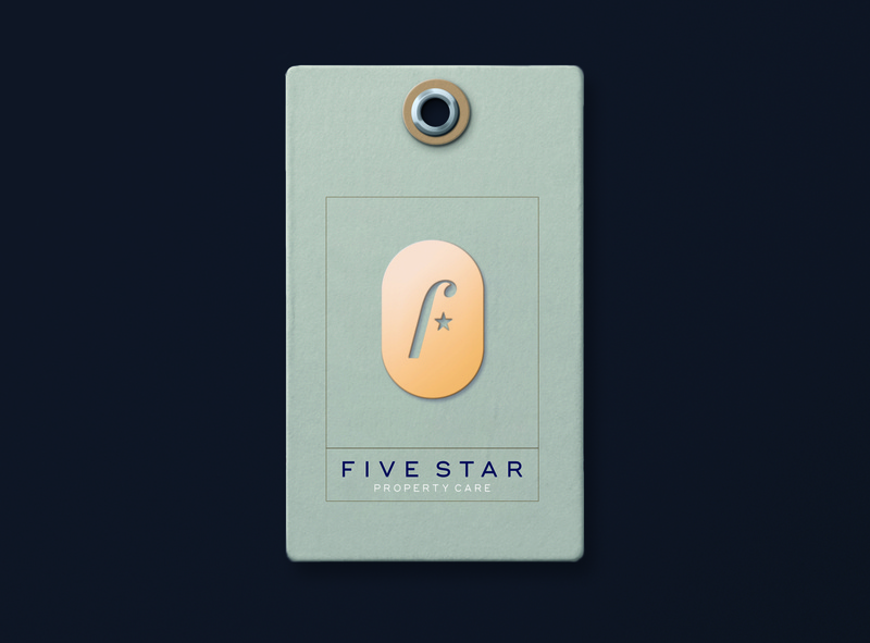 Five Star architecture building realestate property star five f design icon mark branding logo