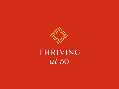 Thriving energy consultancy 50 thrive stationary design brand icon mark branding logo