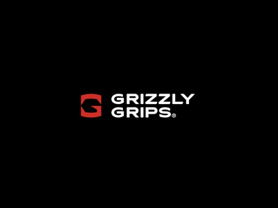Grizzly Grips grizzly bear graphic design gym fit ufc gloves grips grizzly g packaging design brand icon mark branding logo