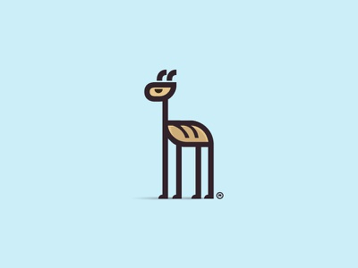 Big Loaf - Giraffe branding big kenya giraffe bread animal logo