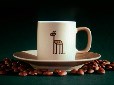 Big Loaf Mug branding big kenya giraffe bread animal logo