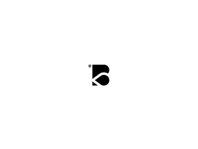 B + Drop (Banerrz.Ca) print paint ink logo branding printing drop b minimal