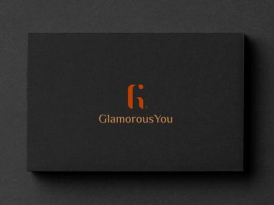 Glamorous You glam you beauty logo g y branding