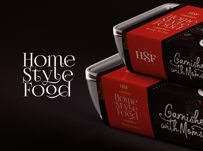 Home style food - Pack Sleeve