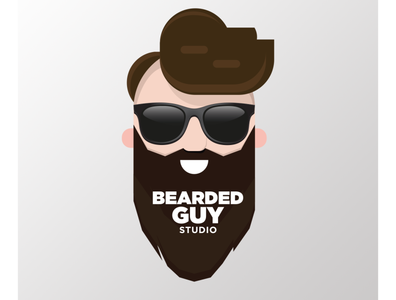 bearded guy social media promo