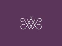 WA Monogram lettering monogram type logo