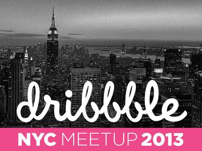 NYC Dribbble Meetup 2013