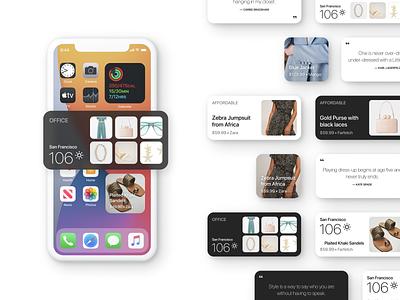 CHIC Widgets ios app ios14 widget widgets