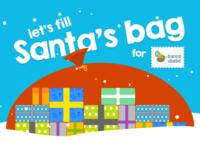 Santa's Bag for Banco do Bebé (NGO)