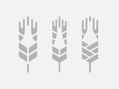 'Brewing Farm' logo - WIP logo milan bottle icon wheat brewery beer