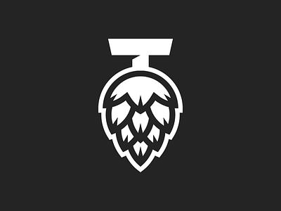 Taproom - Logo WIP design logo brewery beer taproom hop hops identity branding