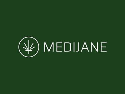 MediJane - WIP thc nature organic cbd cannabis brand identity mark logo logotype branding