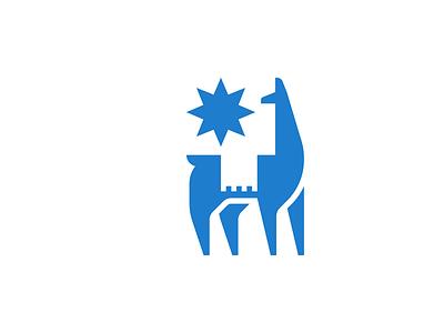 Coffee roaster - WIP sun brand identity blue coffee roaster coffee alpaca llama design logo branding