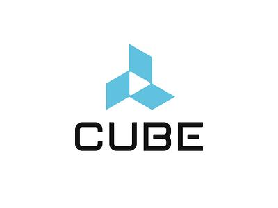 CUBE - Logo Proposal brand identity play cube design logo branding