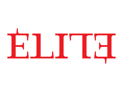 Élite - Ambigram