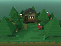 🔶 Voxel Project: The Hunting Lodge