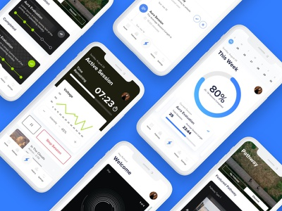 Details graph iphone x ux dashboard colourful experience mobile design ui