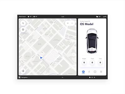 Dashboard concept animation principle website tablet mobile ux designer ui page concept dashboard car