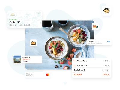 App Assets mobile idea concept branding brand product ux ui food graphic design assests