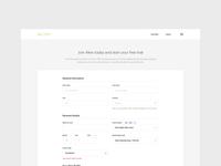 Alexi - Sign Up