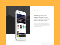 Alexi - Behance Case Study