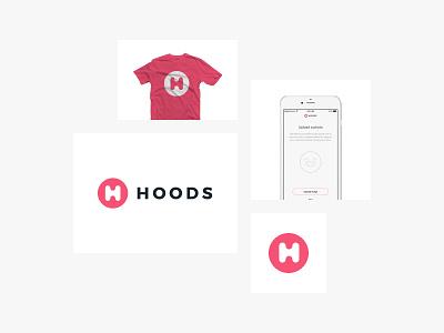 Hoods - Brand Exploration web design user moodboard brand apple ios application app