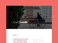 Hoods - Behance Case Study