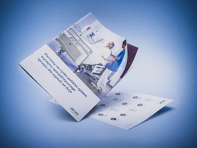 ArjoHuntleigh quick shot healthcare printing flyer print brochure