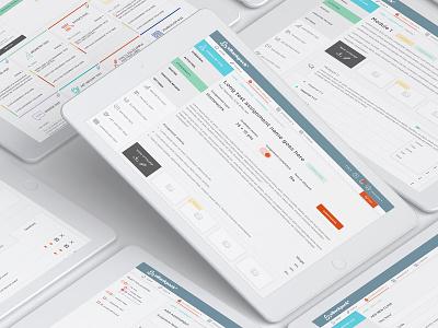 eBackpack e-learning product design ux  ui online learning education