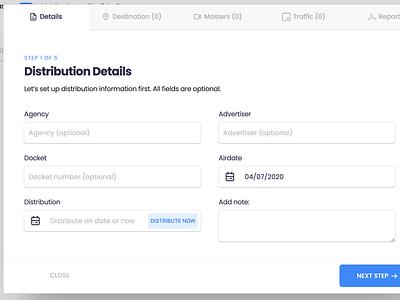 Bootstrap Modal with Steps design ui admin figma vuejs modal mstr