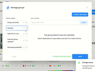 Manage Groups - Bootstrap Modal bootstrap-modal axios vuejs groups autocomplete