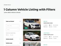 Car listing directory theme